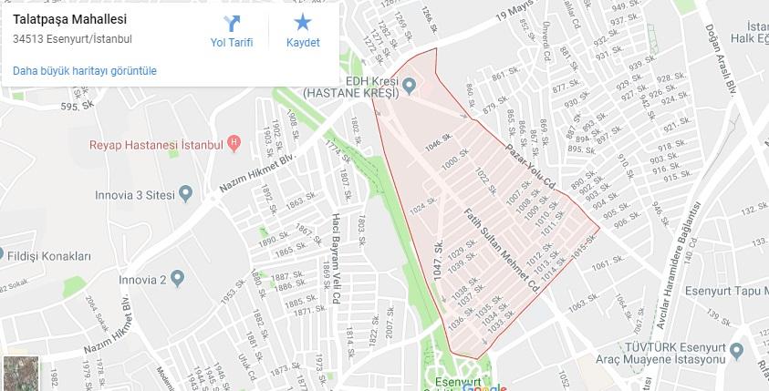 Talatpaşa Mahallesi Hurdacı